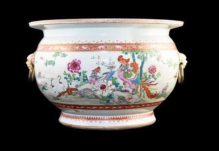 Chinese porcelain famille rose fishtank
