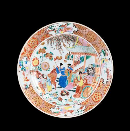 Chinese porcelain large charger