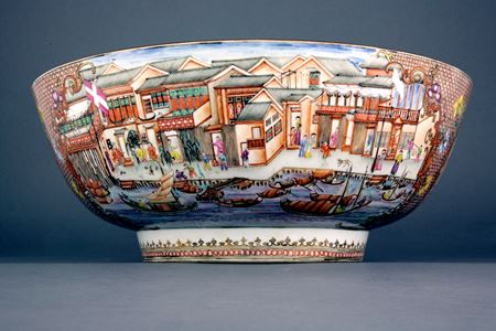 FAMILLE ROSE HONG BOWL   SOLD